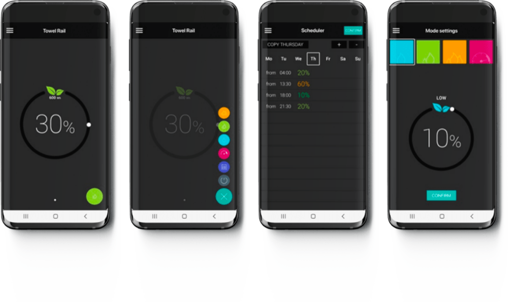 Deletacalor Electric+ App
