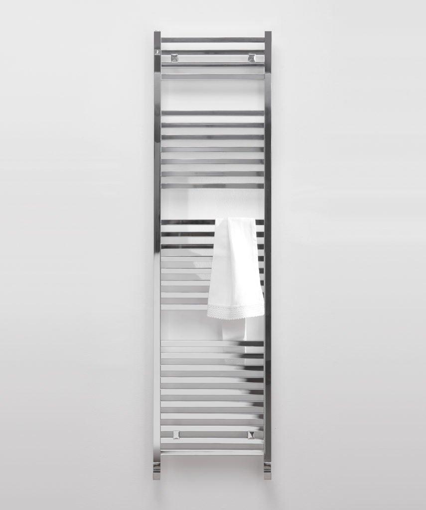 Heating radiator Bathroom White Right//Bent termoarredo scaldasaviette
